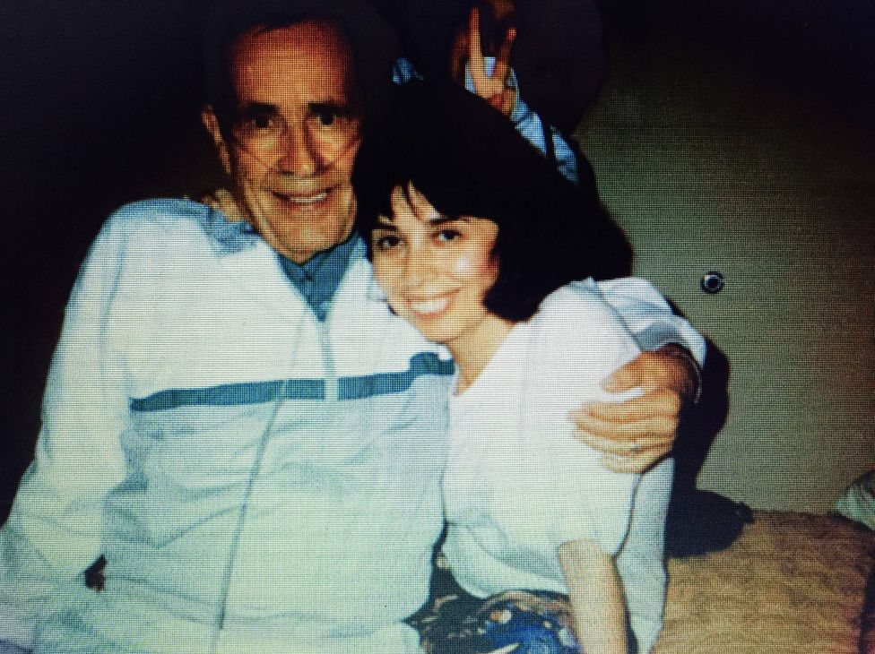 Dutch Schultz and his daughter, Carol