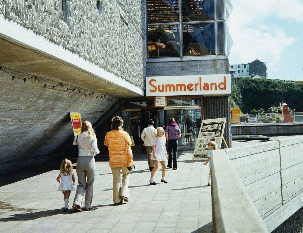 Summerland before it burned