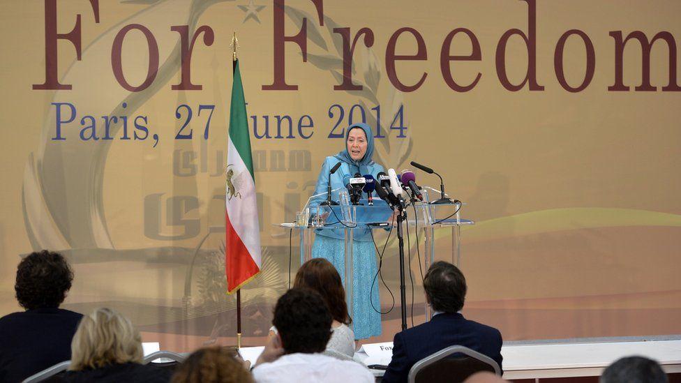 MEK leader Maryam Rajavi