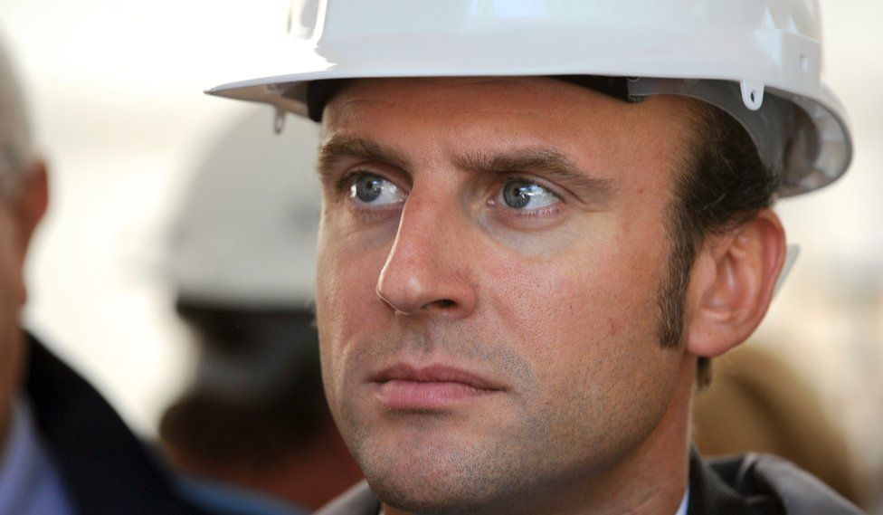 Emmanuel Macron France S Ambitious Man On The Move Bbc News
