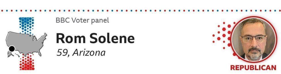 Rom Solene, 59, Arizona, Republican