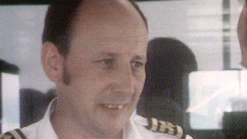 Captain Healey Martin in 1979