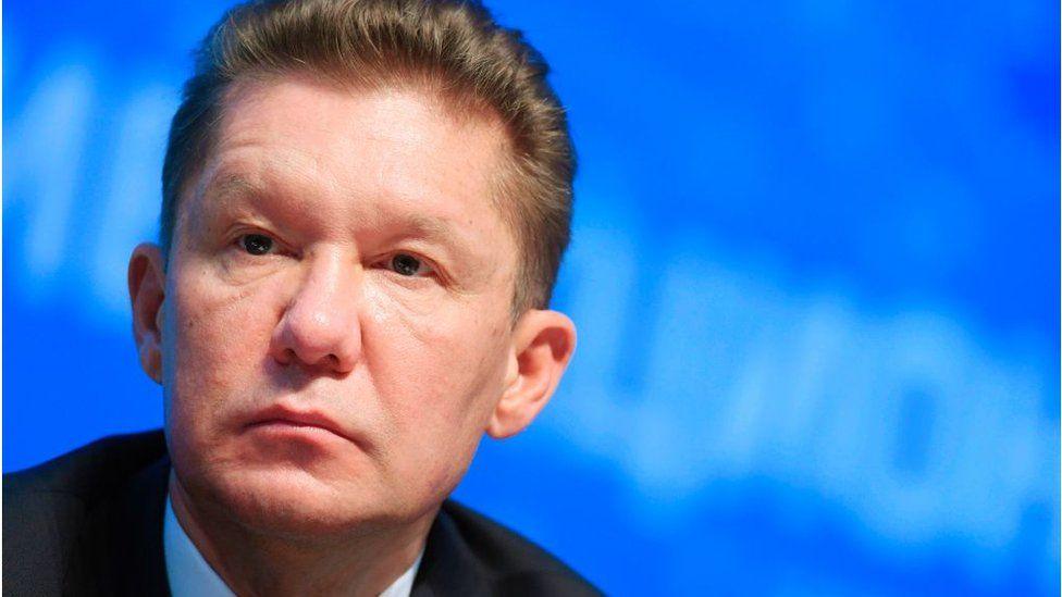 Alexei Miller, head of Russian gas giant Gazprom