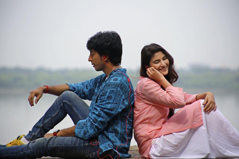 Anshuman Jha and Shivani Raghuvanshi in the film