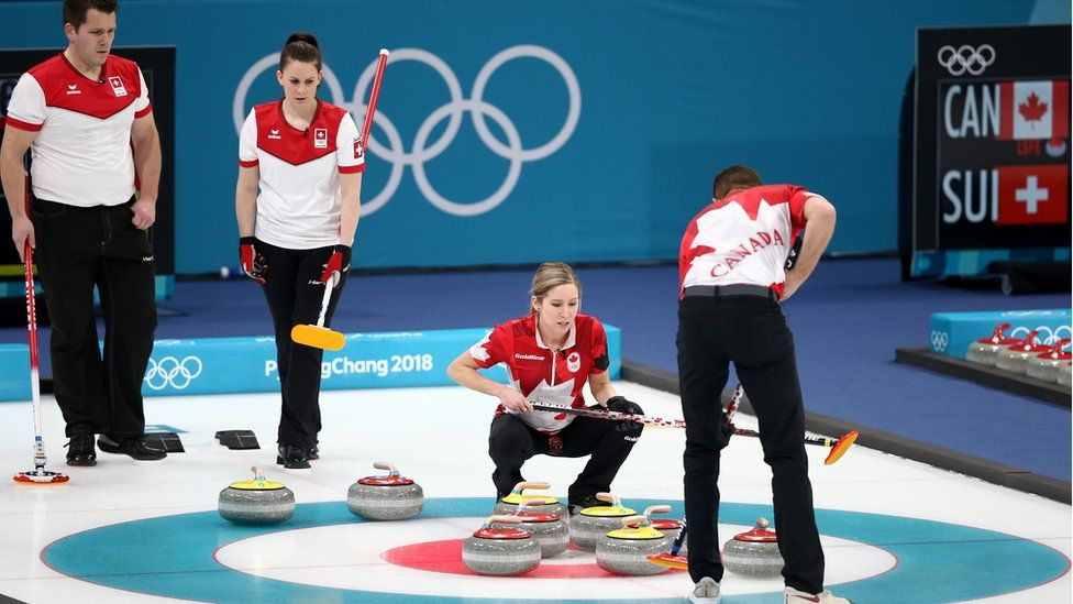 Curling mixed final
