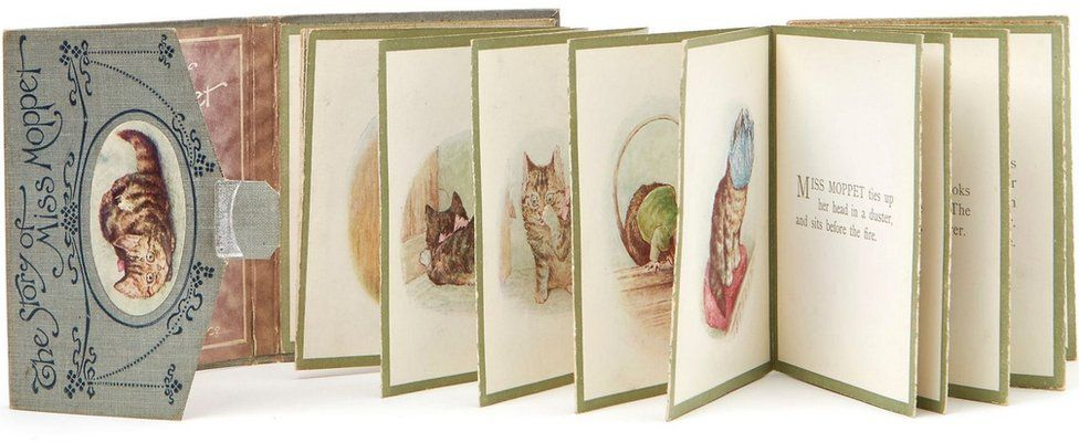 The Story of Miss Moppet, first edition in panoramic format