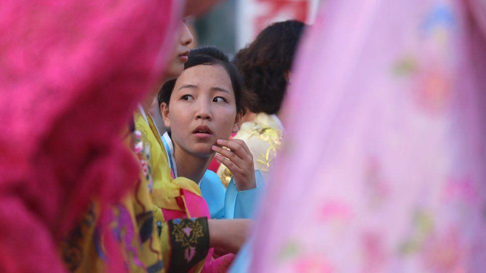 North Korean dancer