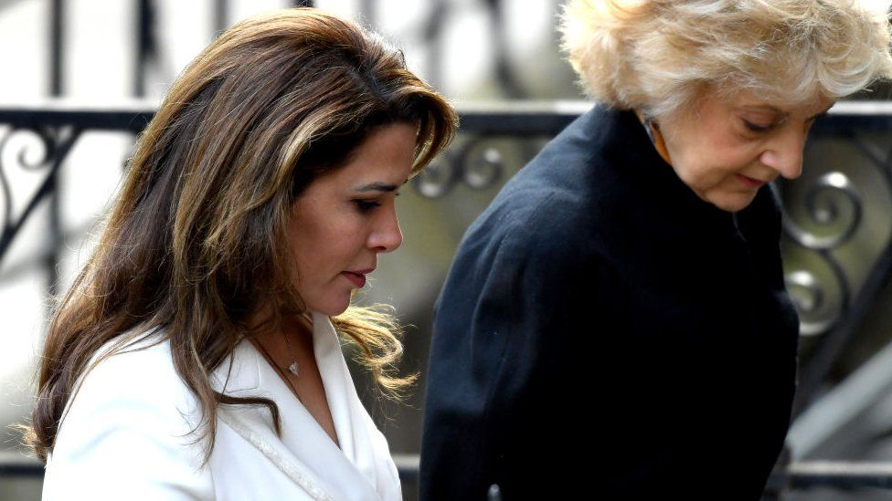 Princess Haya and Fiona Shackleton