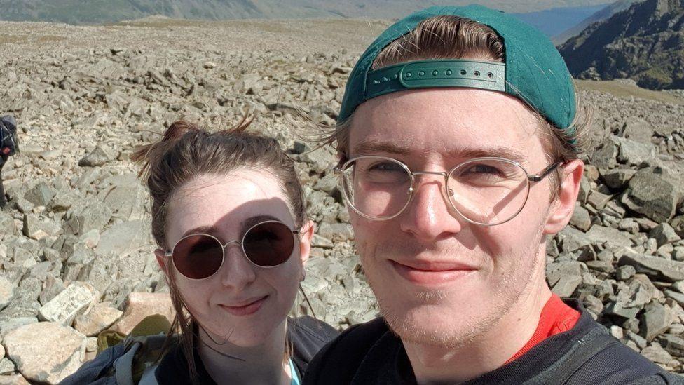 Fiona Want and her fiance, Jack Dziegiel