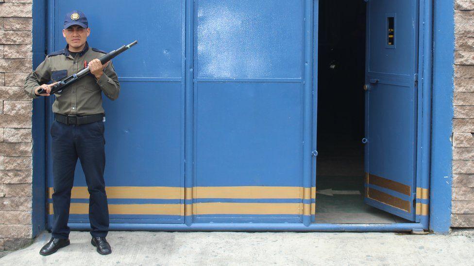 A Sedicop security guard