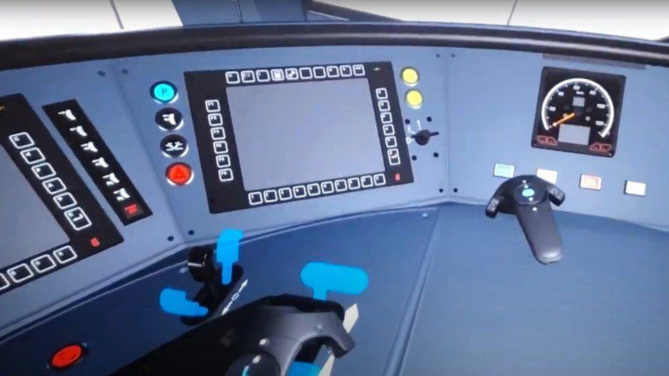 Metro cab through VR