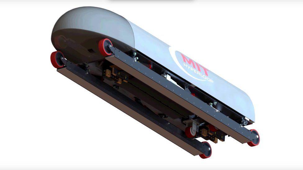 Hyperloop pod
