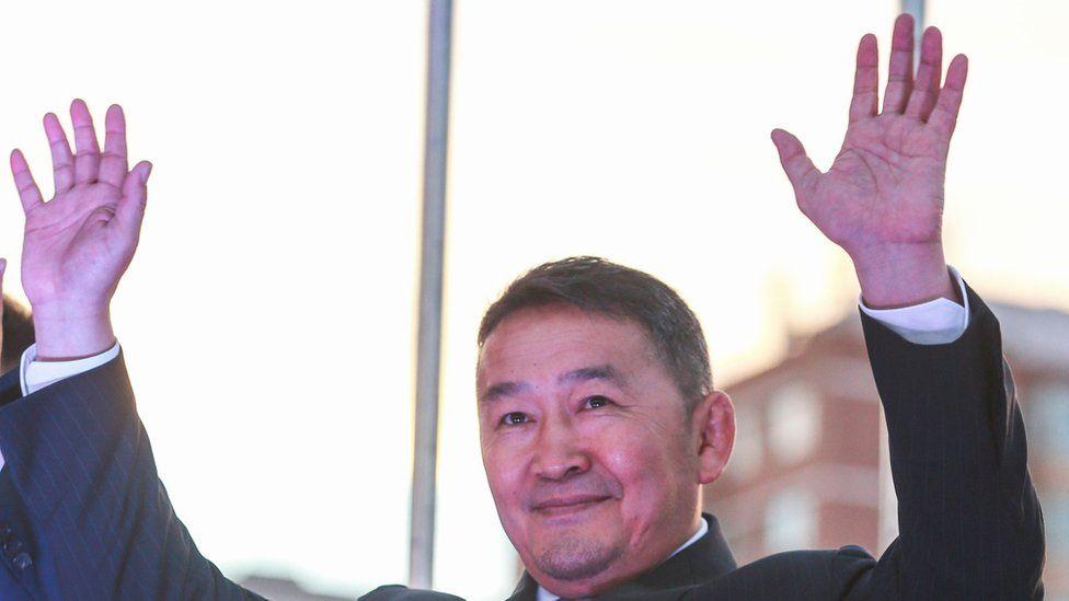 Mongolian President Khaltmaa Battulga
