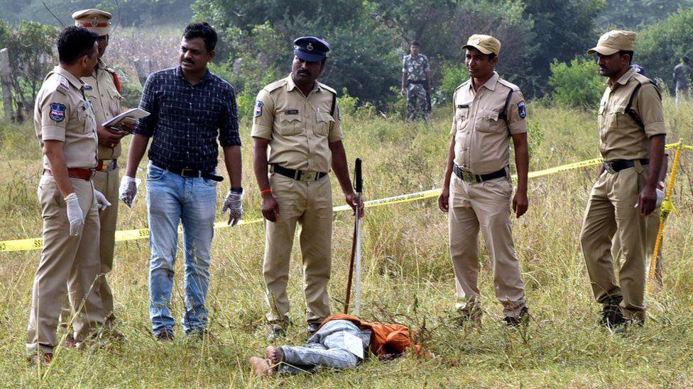 Image result for हैदराबाद 'एनकाउंटर' को लेकर पुलिस के दावों पर उठ रहे ये बड़े सवाल