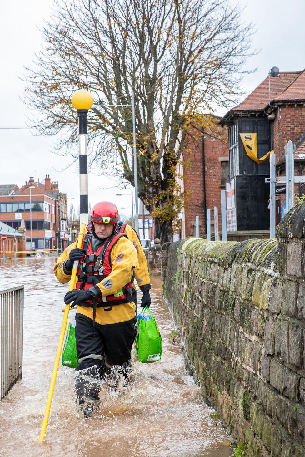 Përmbytja në Worksop