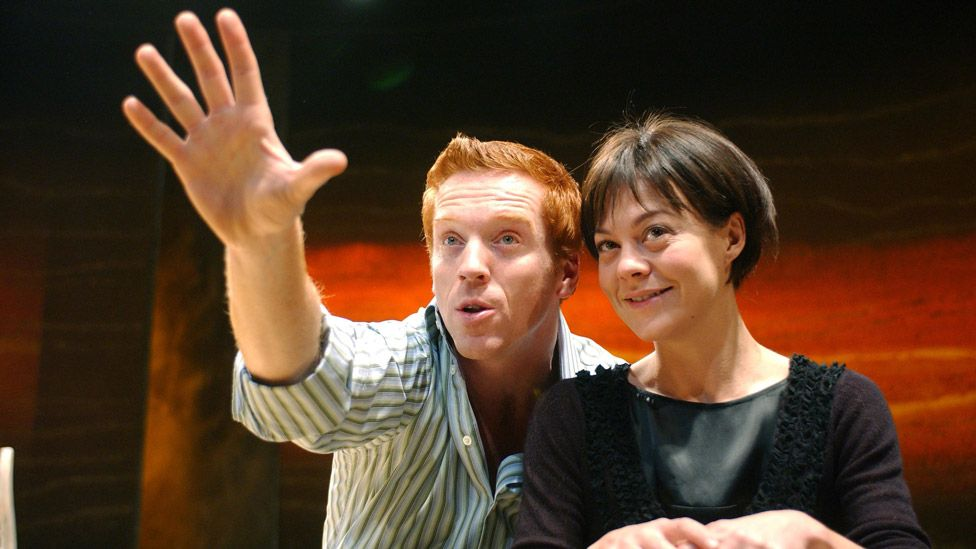 Damian Lewis and Helen McCrory in Five Gold Rings at the Almeida Theatre London