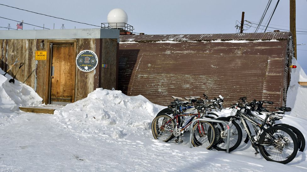 Coffee house, McMurdo station, Antarctica