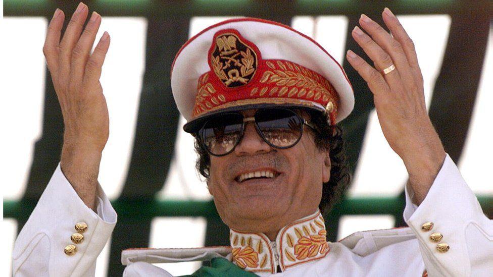 Libya's Col Gaddafi