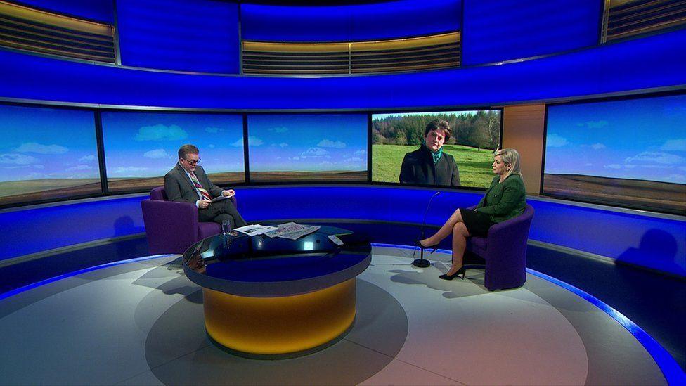 Foster and O'Neill on Sunday Politics