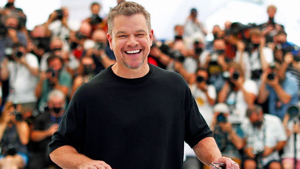 Matt Damon at the Cannes Film Festival