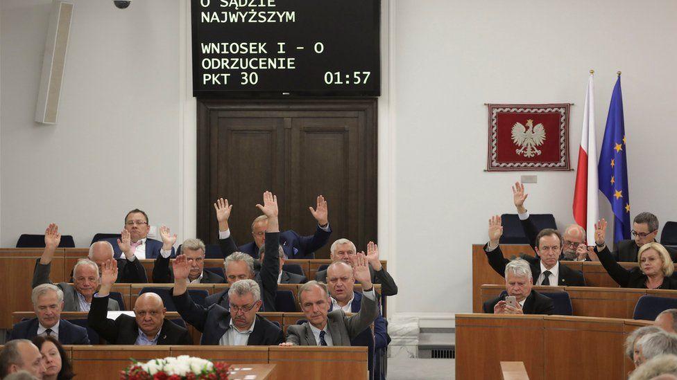 Polish senators vote