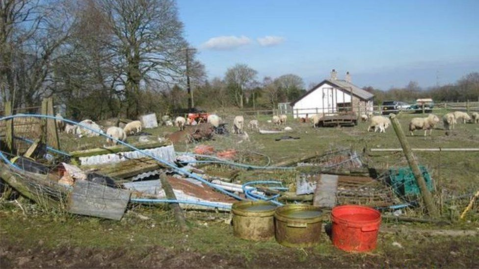The farm where the offences took place