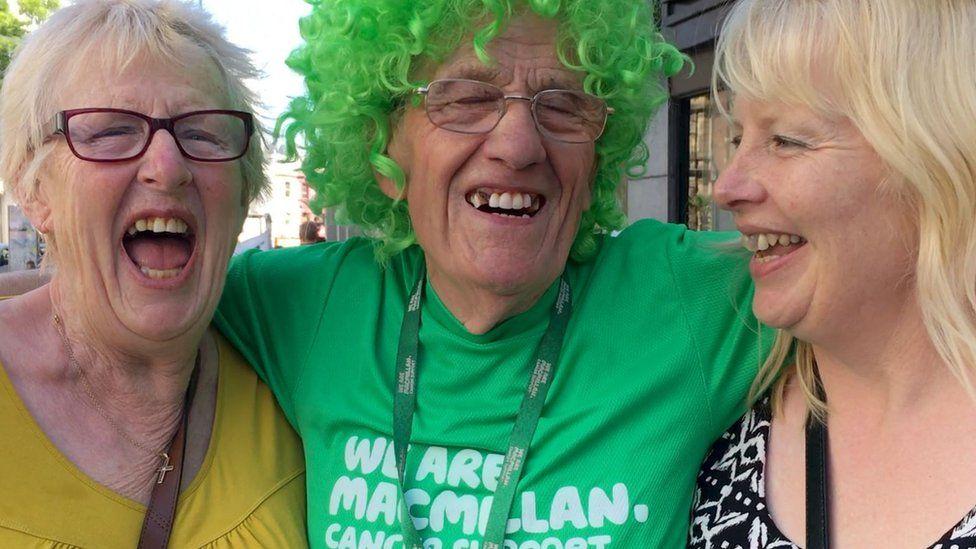 Macmillan Cancer Support fundraiser John Burkhill