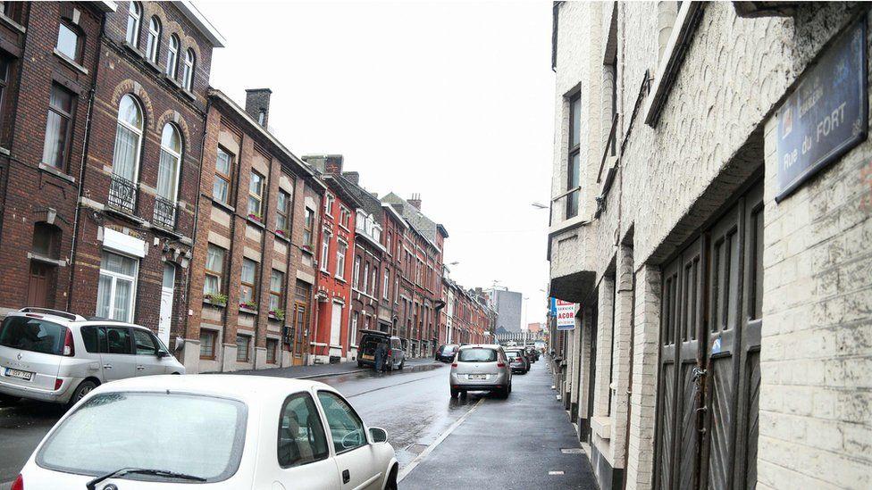 Rue du Fort in Charleroi (13 Jan)