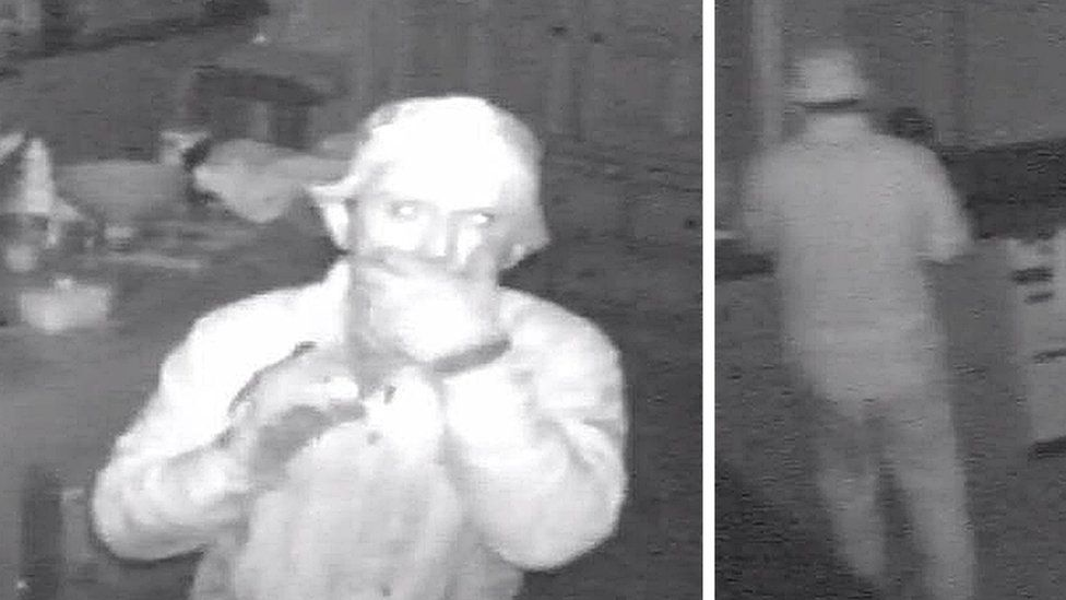 CCTV images of Asdrit Kapaj