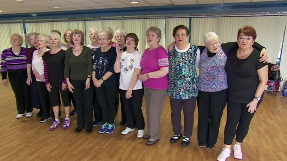 Members of the WISPA fitness class