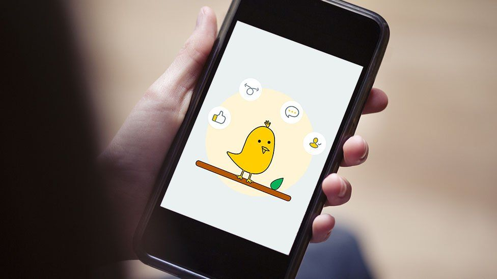 Aplikasi mikroblog Koo di ponsel pintar
