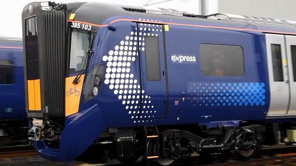 new electric train