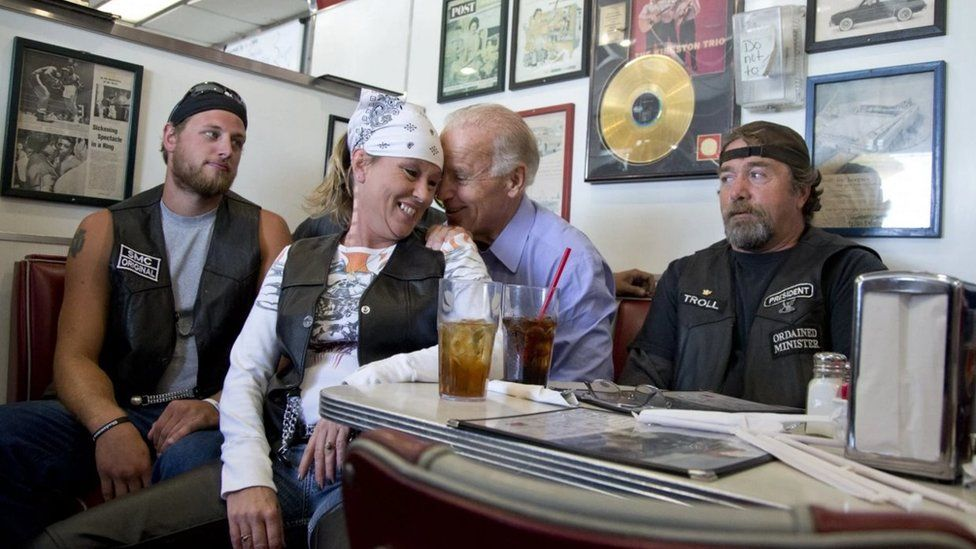 Biden has a common touch and a gift of schmooze that Obama, deservedly or not, is said to lack