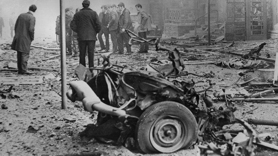 Derry bomb