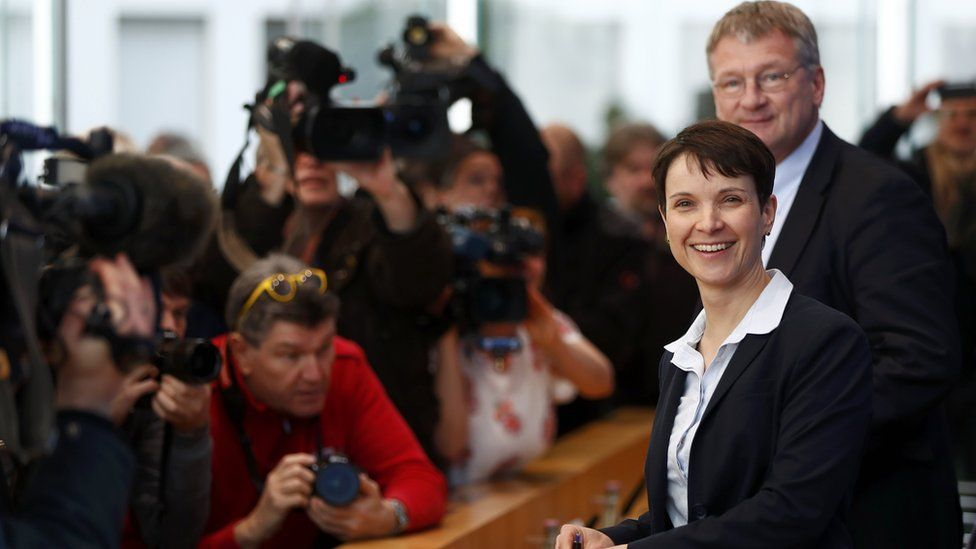 AfD leader Frauke Petry
