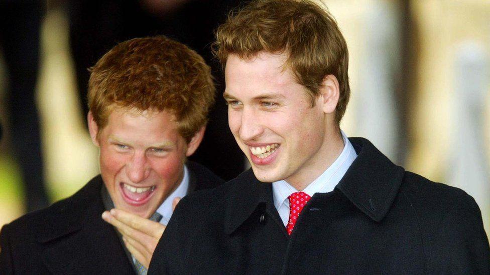 Princes at Sandringham