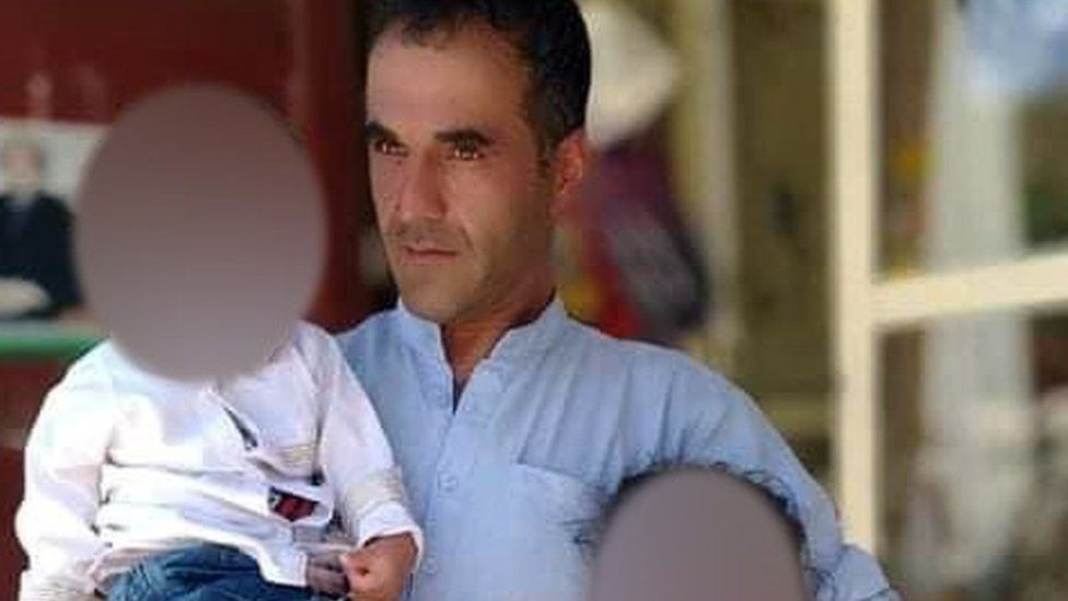 Afghan shopkeeper Abdul Sami who was reportedly killed by the Taliban