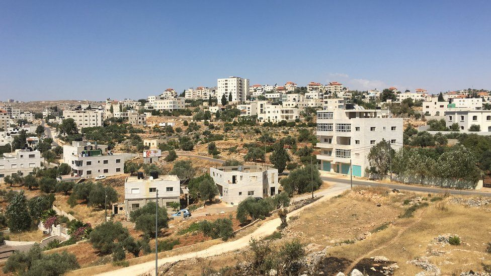 Silwad, north-east of Ramallah, in the occupied West Bank