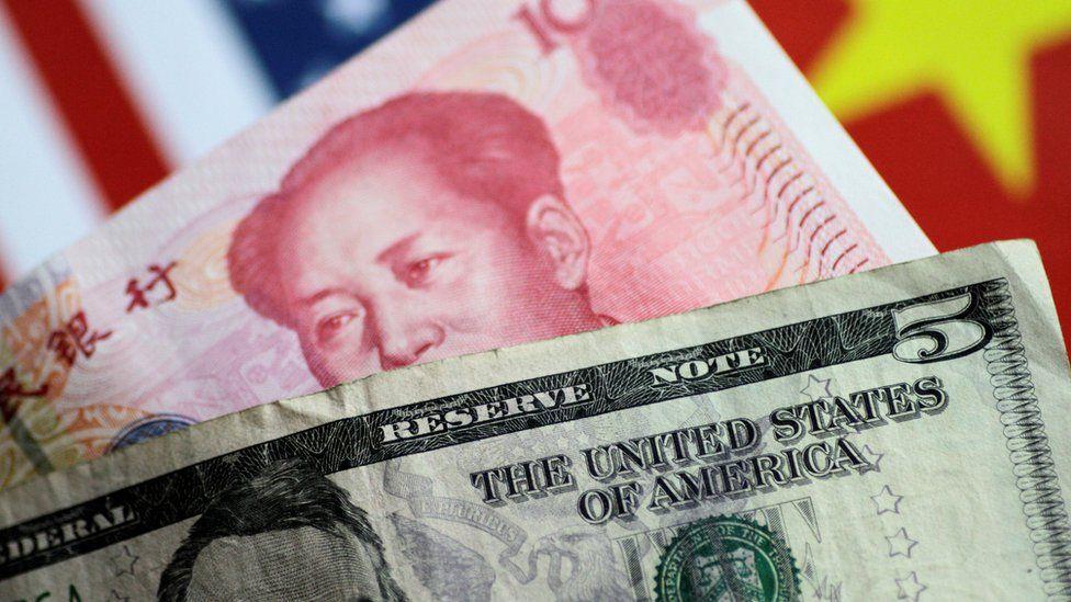 Dollar and yuan