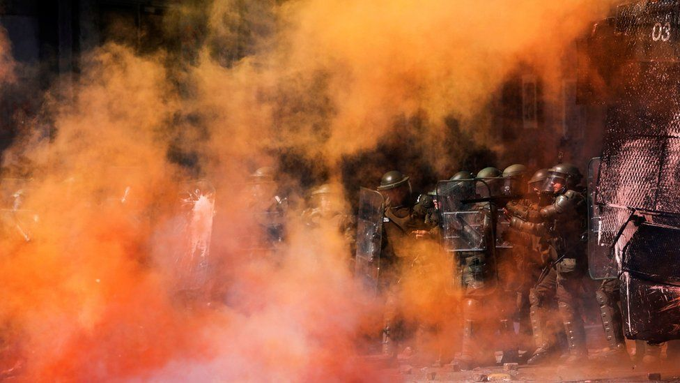 Chile protests: UN accuses security forces of human rights abuses
