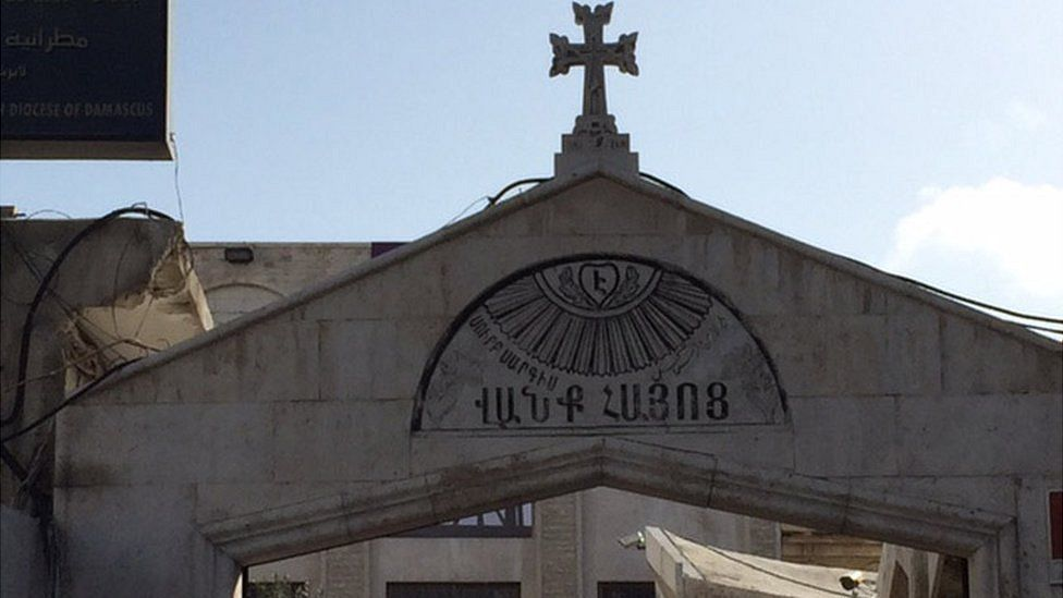 Saint Sargis Armenian Church in Damascus