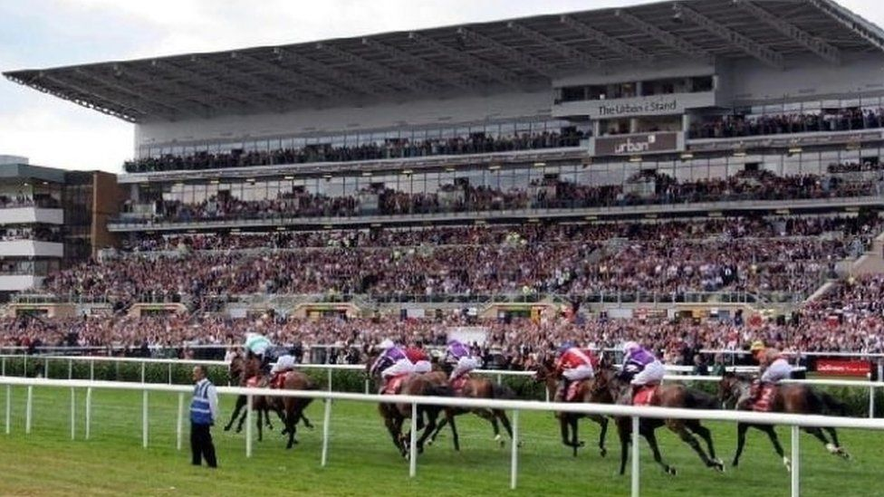 The St Leger festival in Doncaster (archive photo)