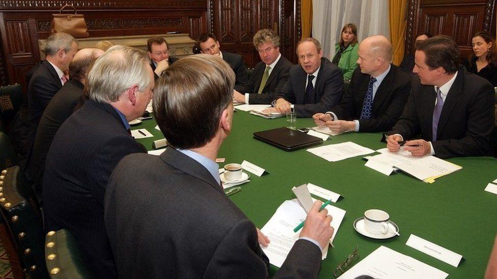 David Cameron's shadow cabinet 2008