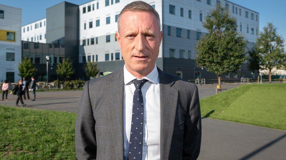 Head teacher Andrew Roberts