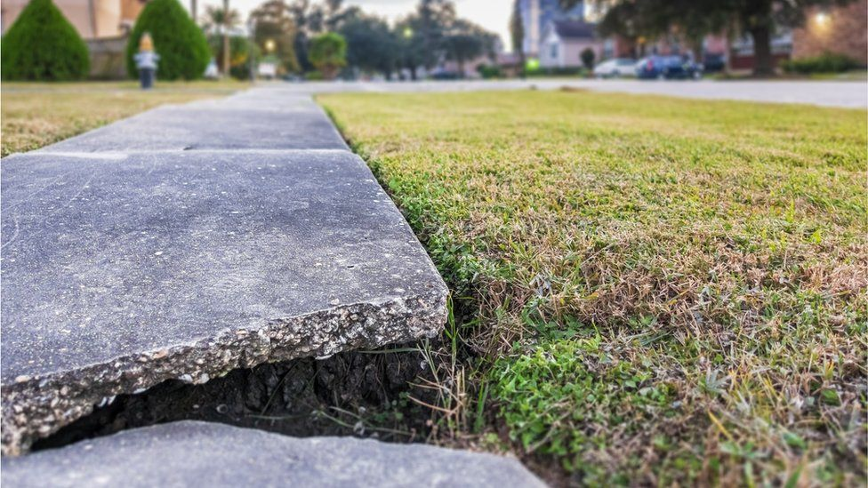 Cracks are everywhere from pavements to bridges