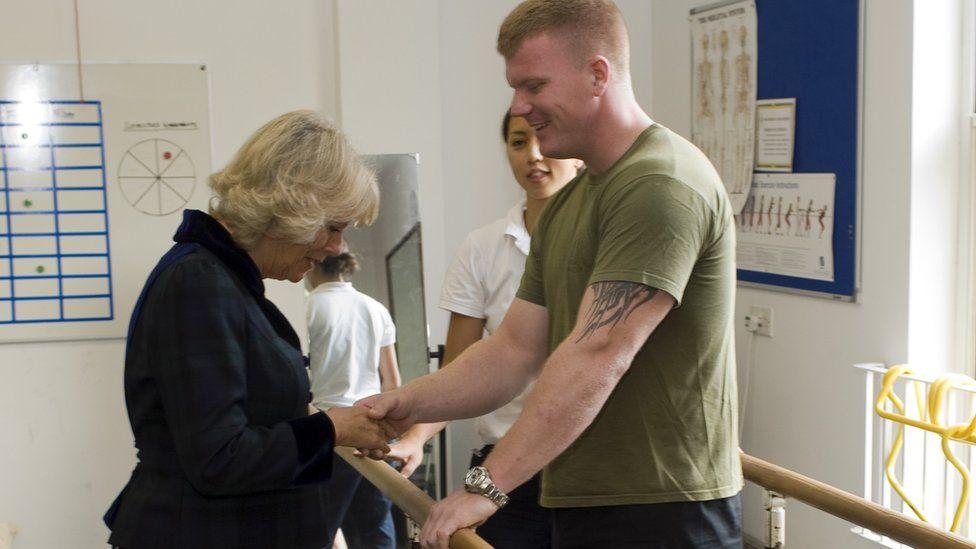 Mark Fincham meets the Duchess of Cornwall