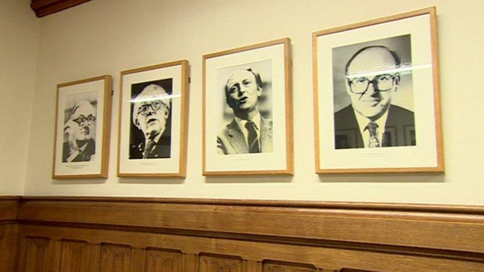 Portraits of Labour leaders past
