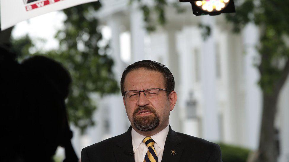 Former White House staffer Sebastian Gorka