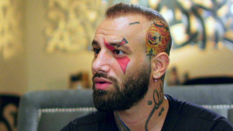 Iranian rapper Amir Tataloo