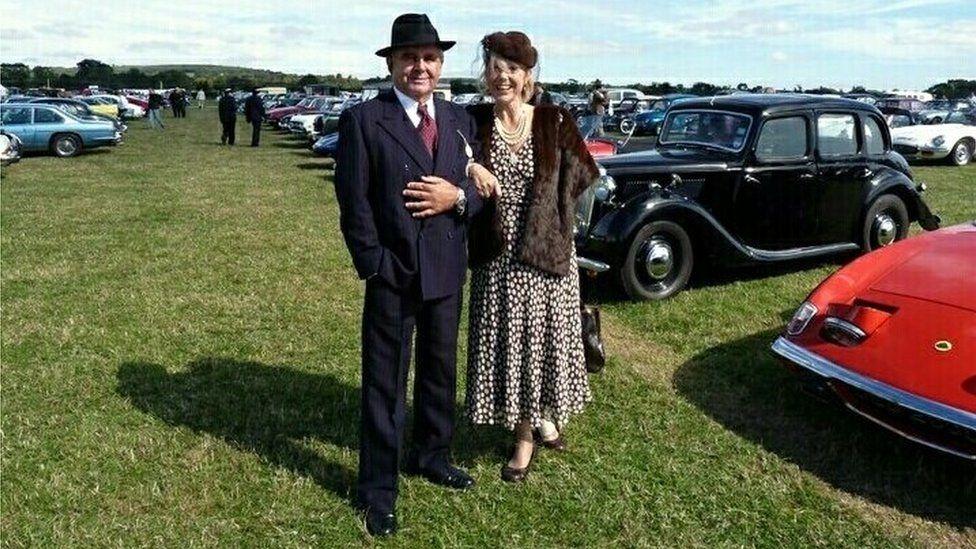 David Harris and Hazel Allinson